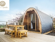 Mulino Pod roof using eco tiles