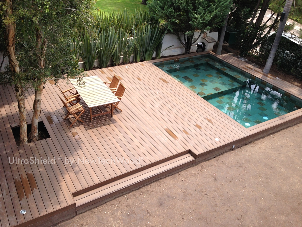 Eco systems distribution grey decking 5 for Best material for deck